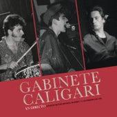 En Directo (Colegio Mayor Mendel, Madrid, 11 febrero 1984) de Gabinete Caligari
