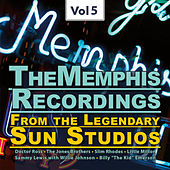 The Memphis Recordings from the Legendary Sun Studios1, Vol.5 de Various Artists