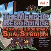 The Memphis Recordings from the Legendary Sun Studios2, Vol.7 von Various Artists