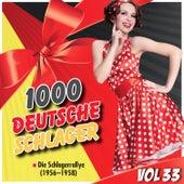 1000 Deutsche Schlager, Vol. 33 by Various Artists
