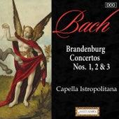 Bach: Brandenburg Concertos Nos. 1-3 von Capella Istropolitana