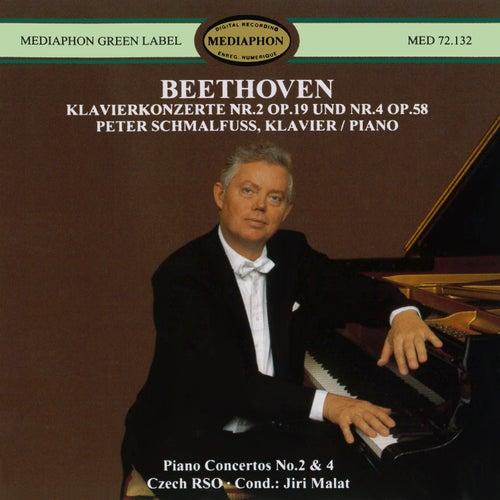 Beethoven: Piano Concertos Nos. 2 & 4 by Peter Schmalfuss