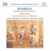 Complete Orchestral Works 1 by Joaquin Rodrigo