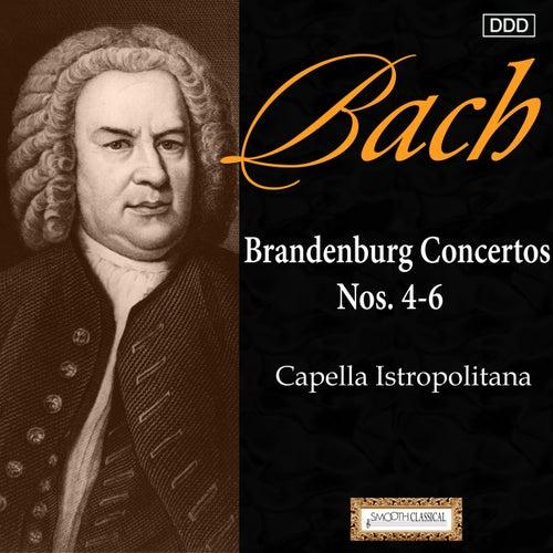 Bach: Brandenburg Concertos Nos. 4, 5 and 6 by Capella Istropolitana
