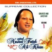 Shahenshah-E-Qawwal Nusrat Fateh Ali Khan Vol -1 by Nusrat Fateh Ali Khan