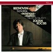 Beethoven: Piano Sonatas Nos. 1, 5, 8 & 17 by Zoltán Kocsis