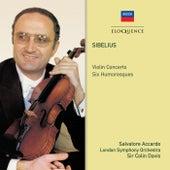 Sibelius: Violin Concerto; Six Humoresques by Sir Colin Davis
