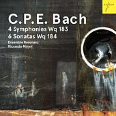 C. P. E. Bach: 4 Sinfonien Wq 183, 6 Sonaten Wq 184 von Ensemble Resonanz