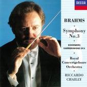 Brahms: Symphony No. 3 / Schoenberg: Chamber Symphony No. 1 di Riccardo Chailly