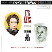 176 Keys - Music for Two Pianos by Vitya Vronsky
