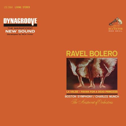 Ravel: Boléro, M. 81; Pavane pour une infante défunte, M. 19 & La Valse, M. 72 by Charles Munch