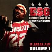 Undisputed Underground, Vol. 1 de E.S.G.