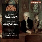 MOZART, L.: Symphonies (London Mozart Players, Bamert) by Matthias Bamert