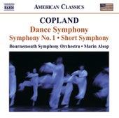 COPLAND, A.: Dance Symphony / Symphony No. 1 / Short Symphony (Bournemouth Symphony, Alsop) von Marin Alsop