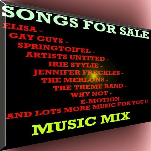 Songs for Sale - Music Mix by Various Artists