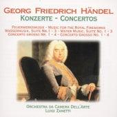 Händel: Konzerte by Luigi Zanetti Orchestra Da Camera Dell'Arte