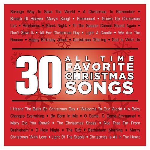 30 All Time Favorite Christmas Songs by Ultimate Tracks