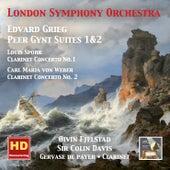 Grieg: Peer Gynt Suites, Nos. 1 & 2 - Spohr: Clarinet Concerto No. 1 - Weber: Clarinet Concerto No. 2 von Various Artists