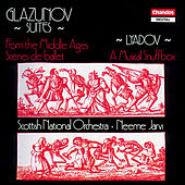 Glazunov: From the Middle Ages & Scenes de ballet - Lyadov: A Musical Snuffbox de Scottish National Orchestra