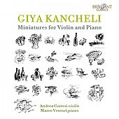 Giya Kancheli: Miniatures for Violin and Piano de Andrea Cortesi