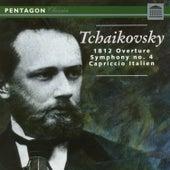 Tchaikovsky: 1812 Overture - Symphony No. 4 - Capriccio Italien by Various Artists