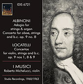 Albinoni & Locatelli: Concerti by Various Artists