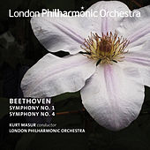 Beethoven: Symphonies Nos. 1 & 4 by London Philharmonic Orchestra