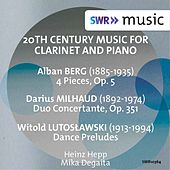 20th Century Music for Clarinet & Piano by Heinz Hepp