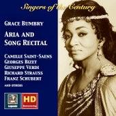 Grace Bumbry: Singers of the Century de Grace Bumbry