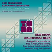 2016 Texas Music Educators Association: New Diana High School Band (Live) by Various Artists