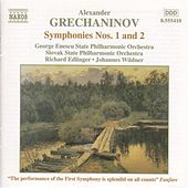 Symphonies Nos. 1 and 2 by Alexander Grechaninov