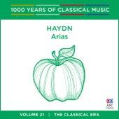 Haydn: Arias (1000 Years Of Classical Music, Vol. 21) de Tasmanian Symphony Orchestra