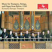 Music for Trumpets, Strings & Organ from Before 1700 de Various Artists