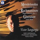 Mendelssohn: Piano Concerto No. 2 - Rachmaninov: Piano Concerto No. 1 - Glazunov: Lyric Poem de Vladimir Verbitsky