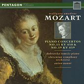 Mozart: Piano Concertos 15 & 19 by Dubravka Tomsic