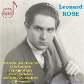 Dvořák & Saint-Saëns: Cello Concertos - Tchaikovsky: Rococo Variations - Beethoven & Brahms: Cello Sonatas (Live) by Various Artists
