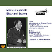 Monteux Conducts Elgar and Brahms by Pierre Monteux