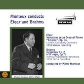 Monteux Conducts Elgar and Brahms di Pierre Monteux