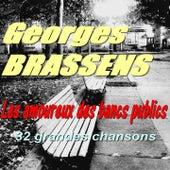 Les amoureux des bancs publics (32 grandes chansons) de Georges Brassens