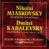 Nikolai Myaskovsky: Symphony N 5 in D Major, Op.18 – Dmitri Kabalevsky: Symphony N 2 in C minor, Op.19 de Plovdiv Philharmonic Orchestra