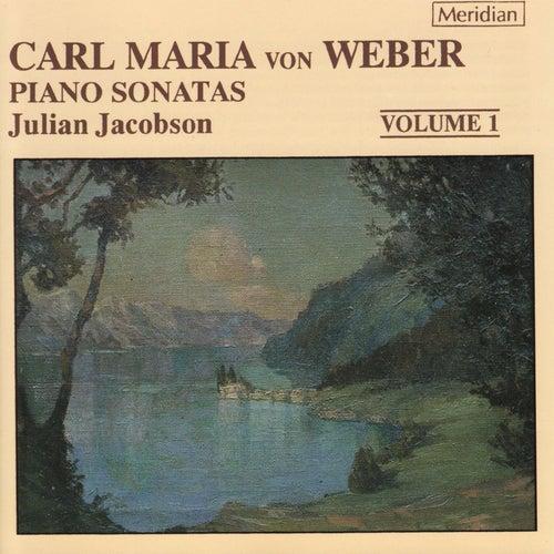 Weber: Piano Sonatas, Vol. 1 by Julian Jacobson