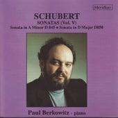 Schubert: Sonatas, Vol. V by Paul Berkowitz