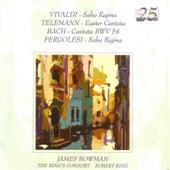 Vivaldi / Telemann / Bach / Pergolesi by James Bowman