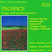 Prospice: Songs with Quartet by Various Artists