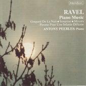Ravel: Piano Music de Antony Peebles