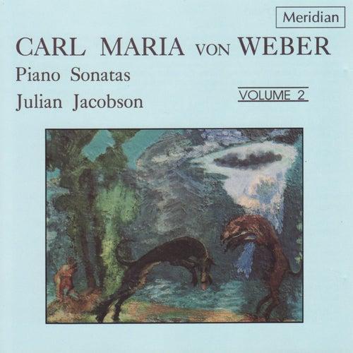 Weber: Piano Sonatas, Vol. 2 by Julian Jacobson