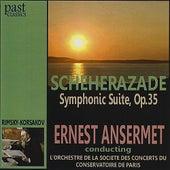 Rimsky-Korsakov: Scheherazade Symphonic Suite, Op.35 de L'Orchestre de la Societe des Concerts du Conservatoire de Paris