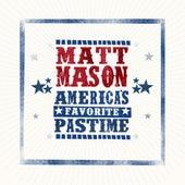 America's Favorite Pastime by Matt Mason