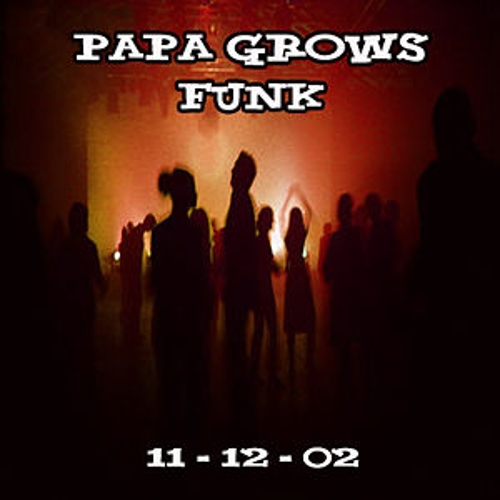 11-12-02 - Iron Horse Music Hall - Northhampton, MA by Papa Grows Funk
