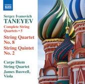 Taneyev: Complete String Quartets, Vol. 5 by Carpe Diem String Quartet